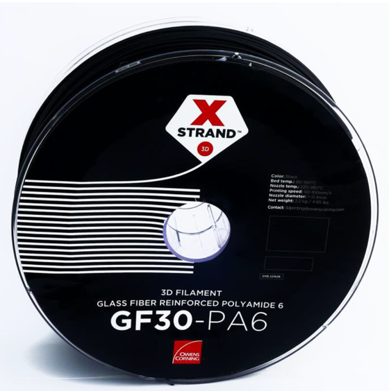 XSTRAND™ Glass Fiber Reinforced Nylon | 2.85mm  | Owens Corning Filament