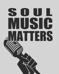 Soul Music Matters Tee (white)