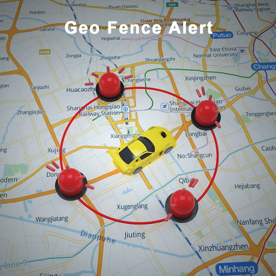 MP90 vehicle tracker - GeoFencing