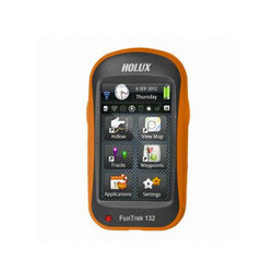 Holux FunTrek 132 Multi-Functional Handheld GPS (IPX6 Waterproof, Hi-resolution 3.0'' WQVGA, 15 hours battery runtime)