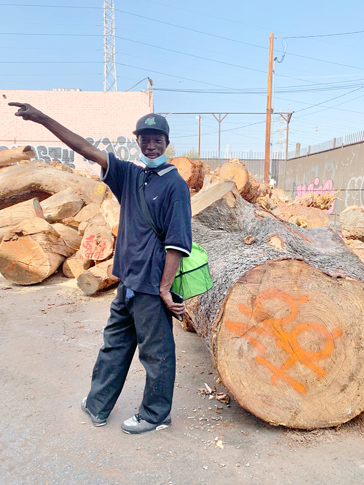 Angel City Lumber, Would Works, sustainable local lumber