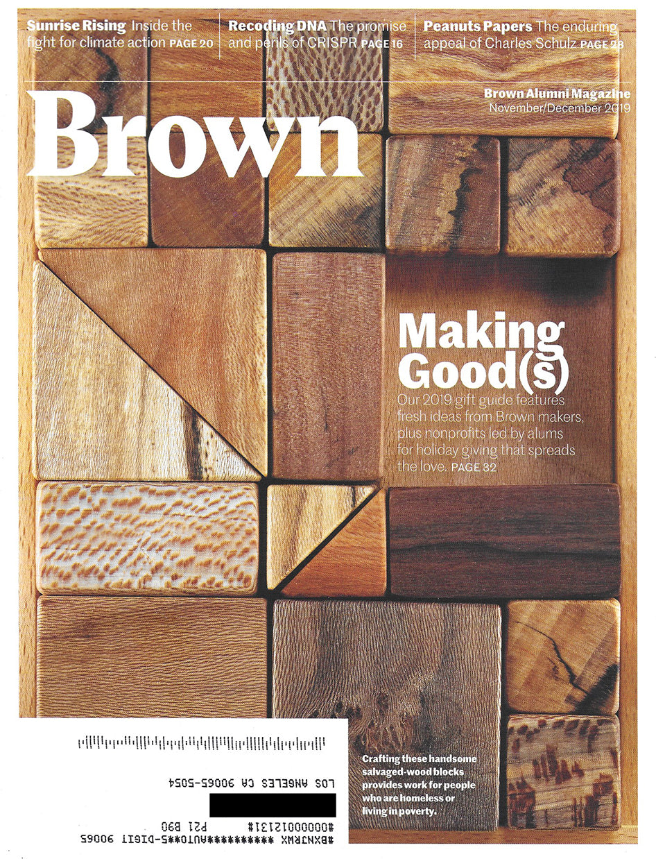 brown alumni magazine would works la city block set