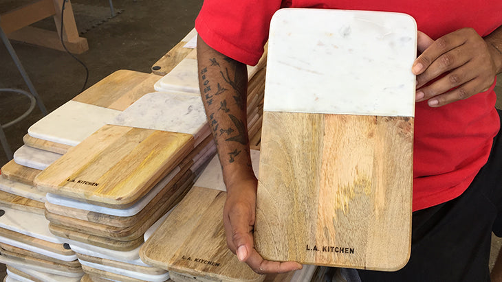la kitchen would works custom engraving custom wood cutting boards