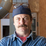 Portrait of Nick Offerman