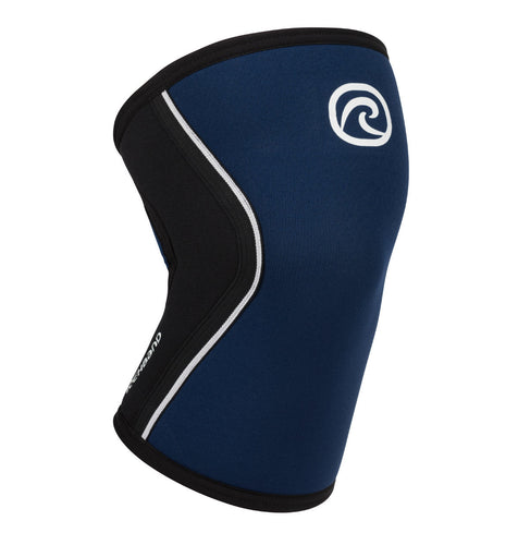Rehband RX Knee Sleeves Navy 5mm (Pair)