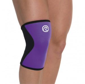 Rehband Womens Knee Sleeves Purple 5mm (Pair)