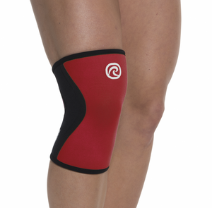 Rehband RX Knee Sleeves Red 5mm (Pair)