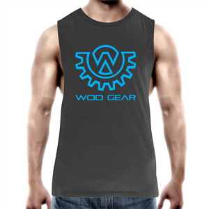 Wod Gear Men's Muscle Tank Black/Blue