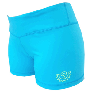 Wod Gear Ladies Wod Shorts Blue
