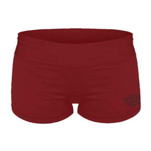 Wod Gear Ladies Wod Shorts Maroon