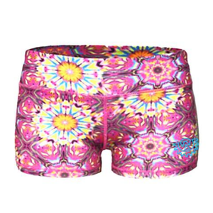 Wod Gear Ladies Wod Shorts Kaleidoscope