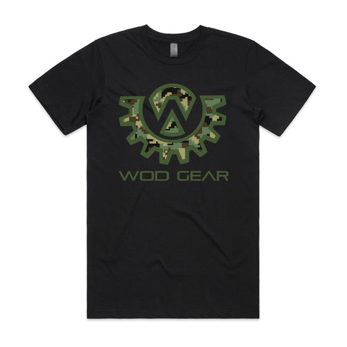 Wod Gear Men's T-Shirt - Digi Camo