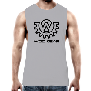 Wod Gear Men's Muscle Tank Grey/Black