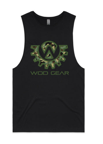 Wod Gear Men's Muscle Tank - Digi Camo
