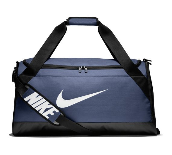 Nike Brasilia Medium Holdall Training Bag Navy