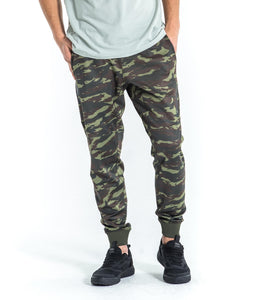 Au26 | BioCeramic™ IconX Performance Track Pants | OD Green Camo UNISEX