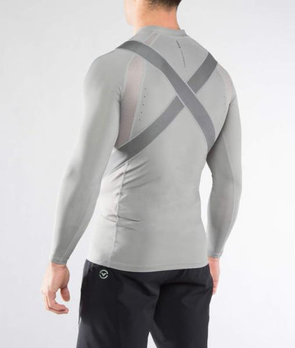 Co28X | CoolJade™ H2X1 X-Form Compression Top | Grey