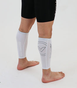 UCo34 | CoolJade™ Compression Calf Sleeves | White