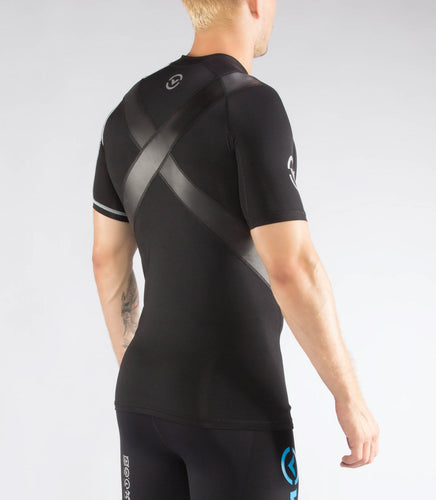 Co11X | CoolJade™ Short Sleeve X-Form Compression Top