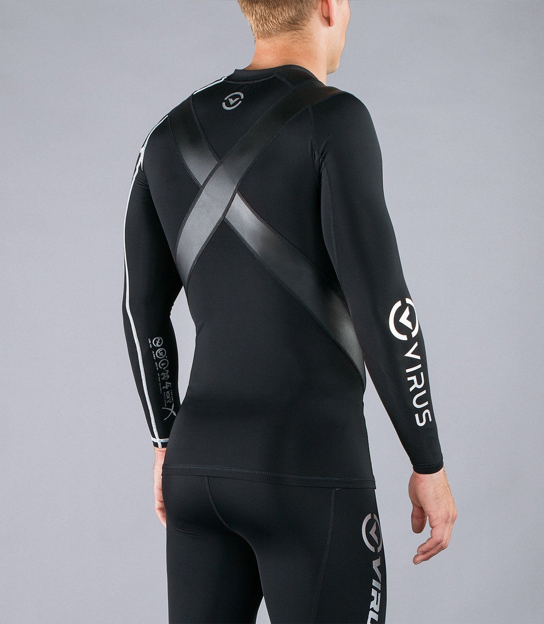 Co12X | CoolJade™ Long Sleeve X-Form Compression Top