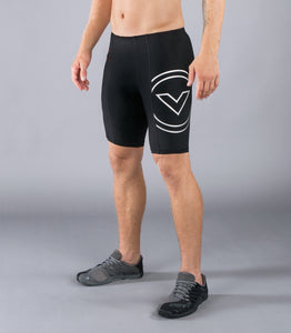 Men's Stay Cool Compression V2 Tech Shorts (Co13) Black