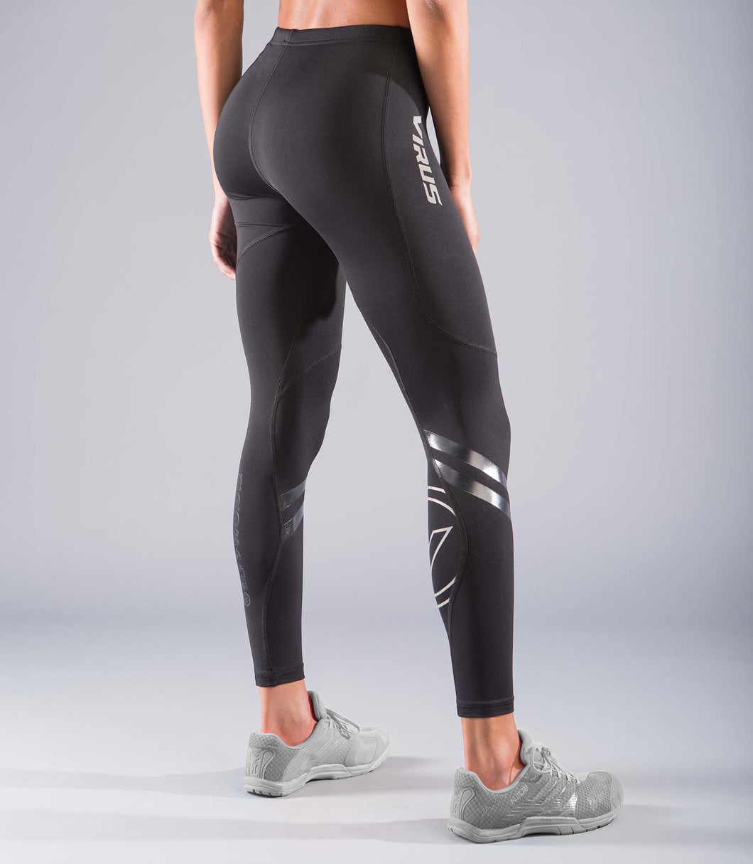 EAu10 | BioCeramic™ ELITE LIFTING Compression Pants | Black