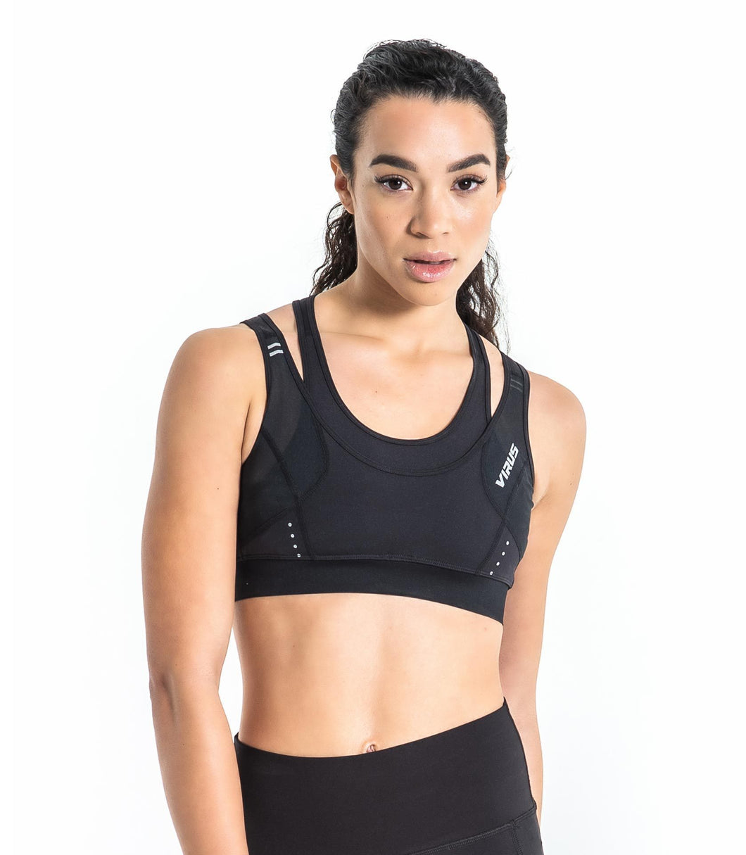 ECo31 | Stay Cool ELITE Crop Tank | Black
