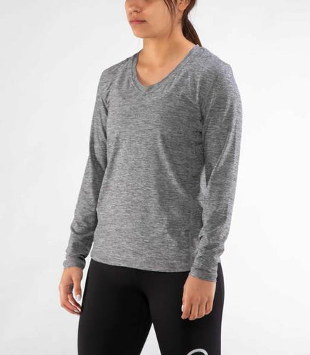 ECO63 | Stay Cool Hydro Long Sleeve | Heather Grey