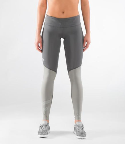 ECo33 | CoolJade™ Mesh Compression Leggings | Charcoal/Grey