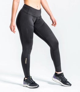 EAu24 | Onyx Bioceramic™ Compression Pant | Black/Gold