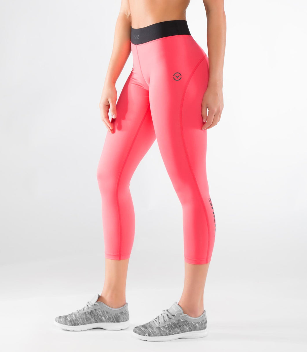 ECo43 | CoolJade™ Jet 7/8  Compression Leggings | Teaberry