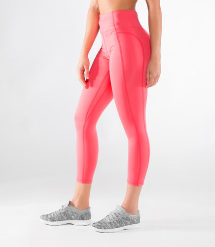 ECo50 | CoolJade™ Omega 7/8 Compression Leggings | Teaberry