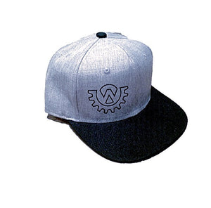 Wod Gear Snapback Hat Grey/Black