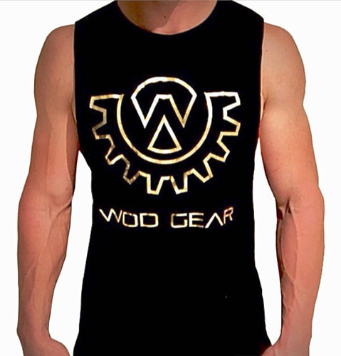 Wod Gear Muscle Tank Gold Series