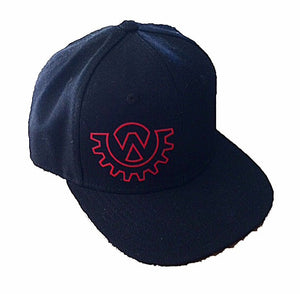 Wod Gear Snapback Hat Black/Red