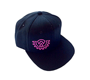 Wod Gear Snapback Hat Black/Pink