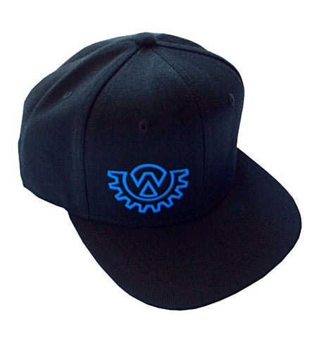 Wod Gear Snapback Hat Black/Blue