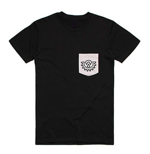 Wod Gear Men's Pocket T-Shirt Black