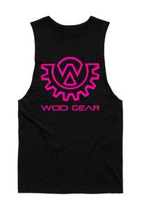 Wod Gear Women's Tank Black/Pink