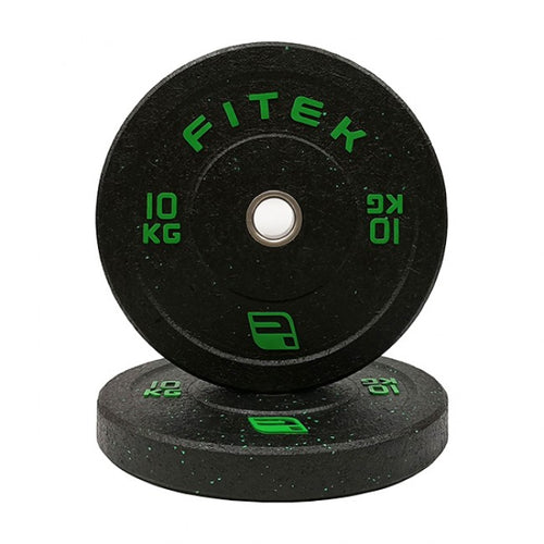 FITEK Integrated 10kg Bumper Plate Set