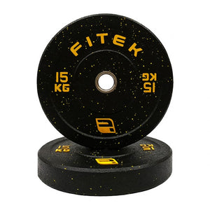 FITEK Integrated 15kg Bumper Plate Set
