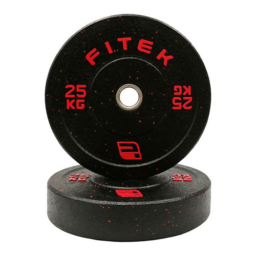 FITEK Integrated 25kg Bumper Plate Set