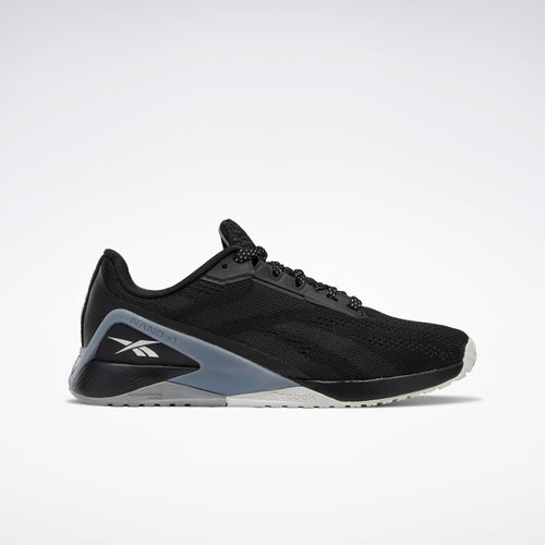 Reebok Nano X1 Womens Training Shoes - Black / Cool Shadow / Cold Grey 4