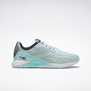 Reebok Nano X1 Womens Training Shoes - Chalk Blue / Digital Glow / White