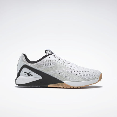 Reebok Nano X1 Mens Training Shoes - White / Black / Reebok Rubber Gum-01