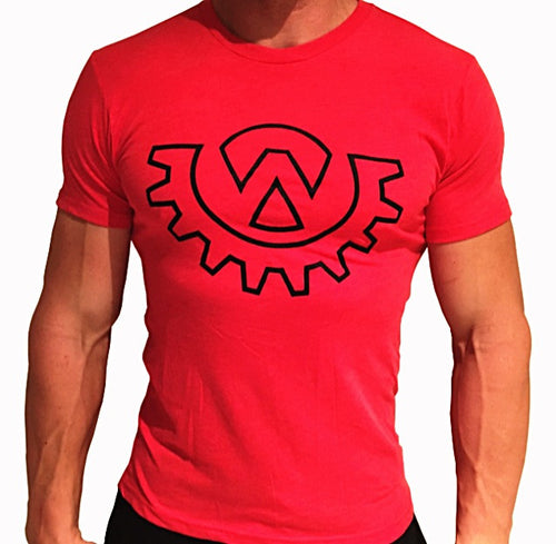 Wod Gear Men's Symbol Tee Red/Black