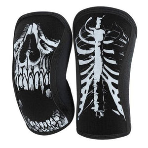 Rocktape Assassin Knee Sleeves Skull