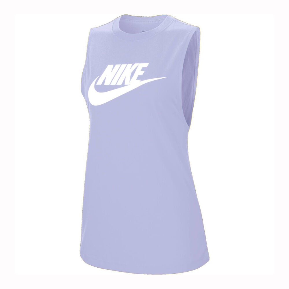 Nike Women's Essential Muscle Tank - Purple