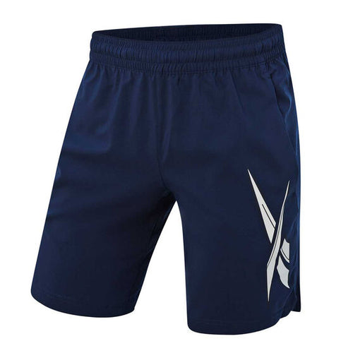 Reebok Workout Ready Men's Graphic Shorts Navy