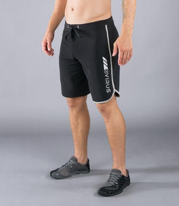 ST1 | AirFlex Training Shorts | Black/Silver